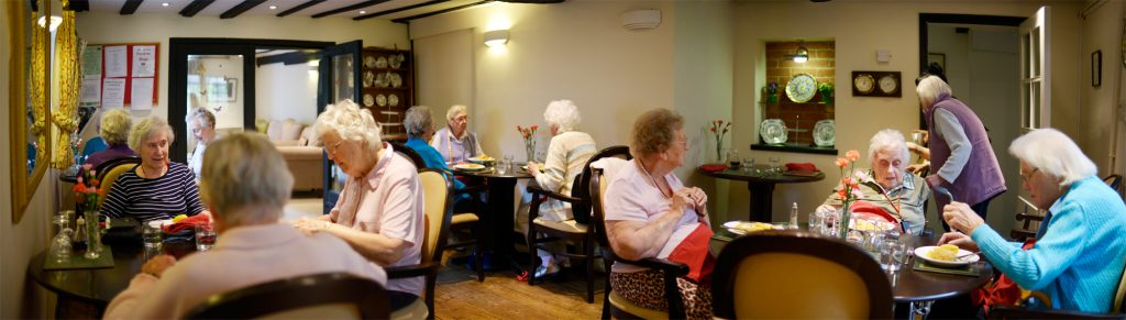 The resident's dining room - Little Brook House Care Home
